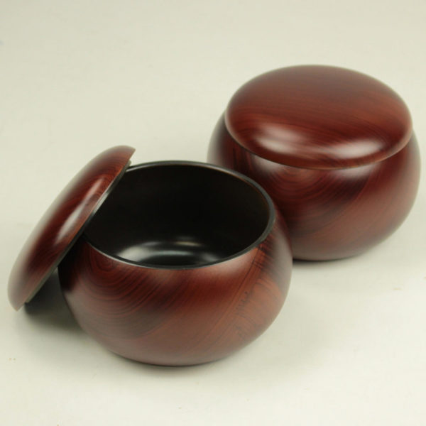围棋罐 塑料 名贵木材(大号、特大号)