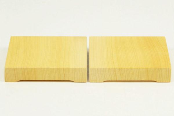 丝柏材质的台式棋盘用驹台