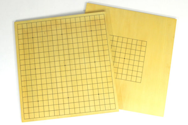 Double-sided MDF Go board (19 lines/9 lines)
