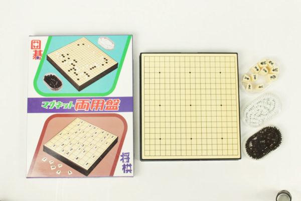 MR-04 Reversible magnetic Go and Shogi set