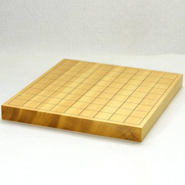 本榧将棋盤10号柾目 卓上一枚物