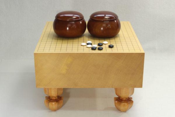 新榧碁盤50号柾目フルセット
