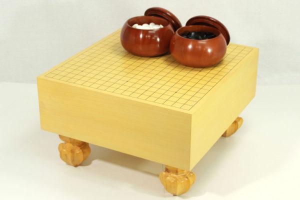 エコ碁盤50号セット(新桜碁笥+本蛤25号実用)