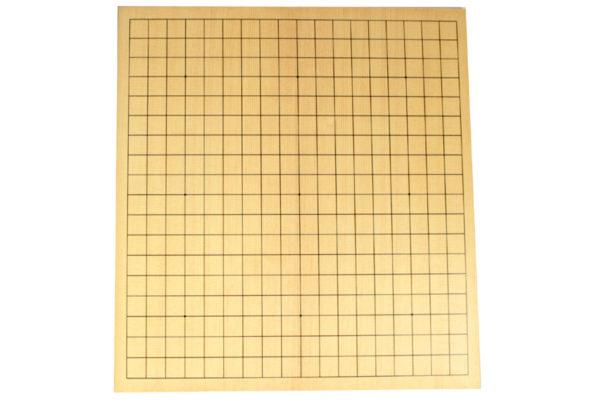 棋になる折碁盤(蝶番の無い折れ盤)