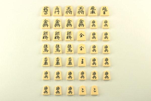 将棋駒 プラスチック駒 銘彫