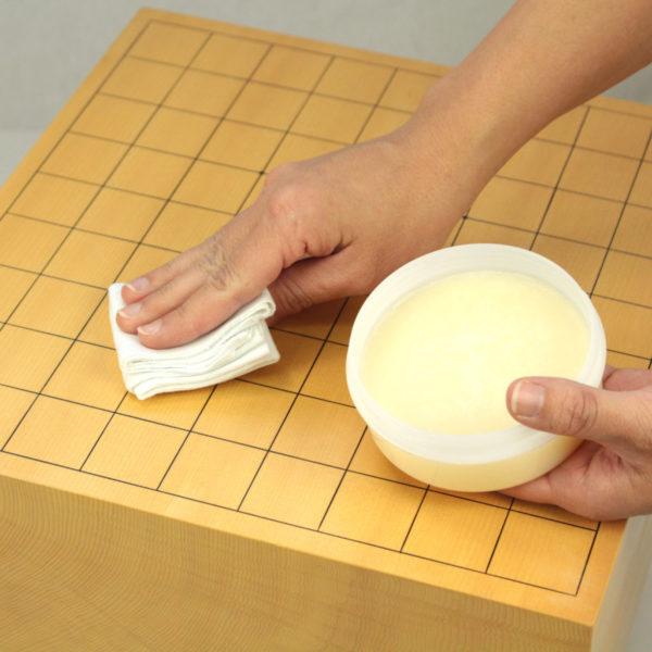 碁盤・将棋盤磨き用 固形ワックス