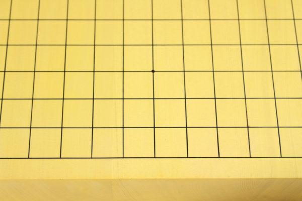 ヒバ碁盤20号 卓上ハギ