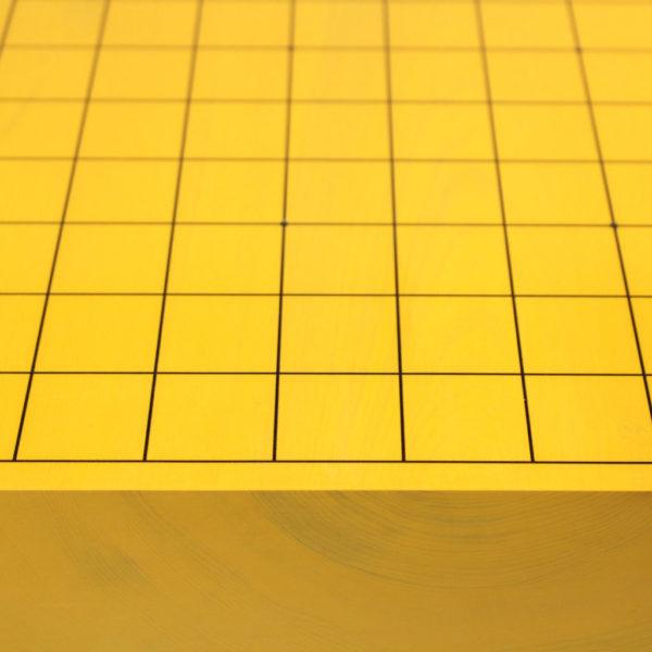 日本産本榧将棋盤 6.3寸 板目足付