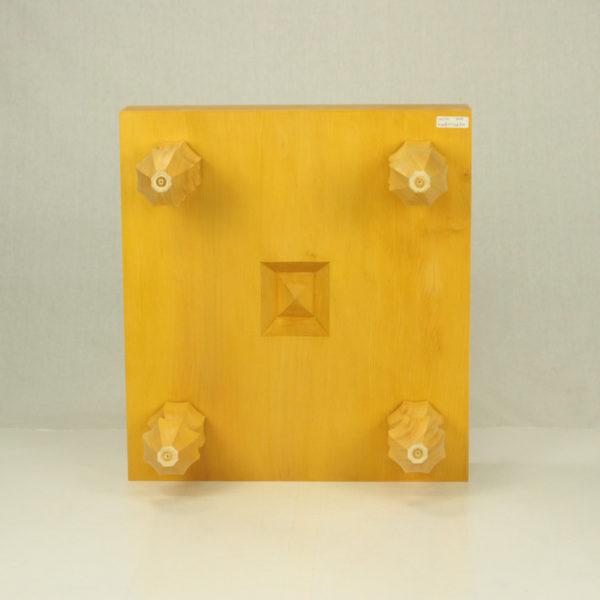 雲南産本榧碁盤 3寸柾目足付