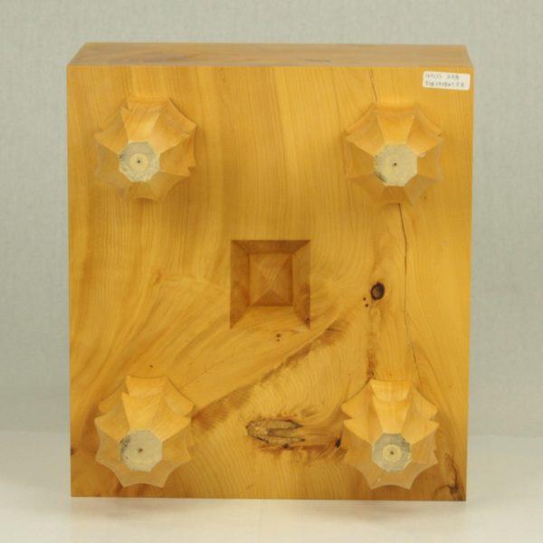 本榧(日本産)将棋盤 6寸木表