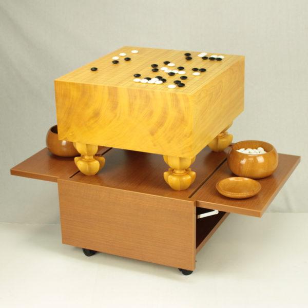 碁盤を載せた状態