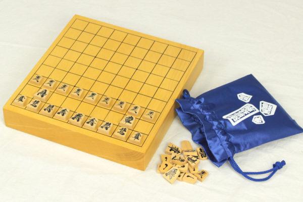 豆本榧将棋盤セット(5号・1寸選択可)