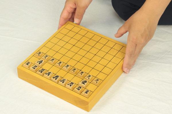 豆本榧将棋盤セット